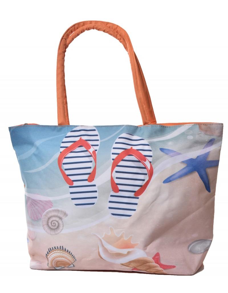 תיק חוף מודפס